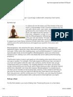 Yoga Journal - Bharadvaja's Twist
