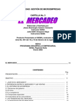 Cartilla de Mercadeo