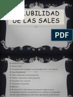 Solubilidad de Las Sales Equipo 6 Cch Nau
