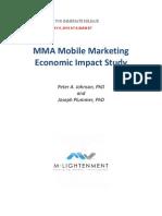 MMA Mobile Marketing Economic Impact Study
