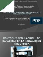 Control y Regulacion de Capacidad en La Instalacion Frigorifica