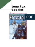 stone fox booklet