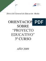 Manual Orientador Sobre Los Proyectos Educativos