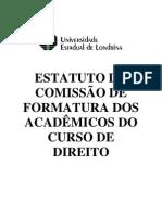 Estatuto Comissão Formatura Turma 74-3000