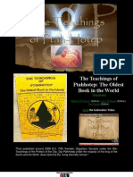 The Teachings of Ptahhotep the Oldest Book in the World