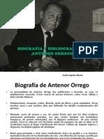 Biografia y Bibliografia de Antenor Orrego