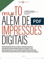 Muito Além das impressões digitais_Revista O Globo 04Nov2012