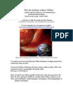 Les effets du système solaire Nibiru