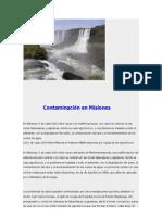 Contaminación en Misiones
