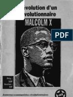 49186557 l Evolution d Un Revolutionnaire Malcolm x