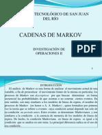 CADENAS DE MARKOV.ppt