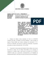 HC 112511 Penal Militar