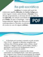 A filosofia pr+¬-socr+ítica