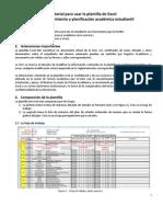 Tutorial Plantilla de Excel