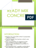 Ready Mix Concrete Ppt 01