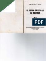 El Estilo Epistolar de Bolivar