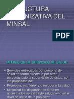 ESTRUCTURA ORGANIZATIVA DEL MINSAL..ppt