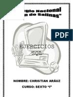 Ejercicios echos SQL