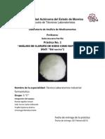 Practicas de Analisis de Medicamentos (Segunda Seccion)