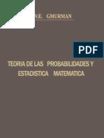 Gmurman v E - Teoria de Las Probabilidades Y Estadistica Matematica