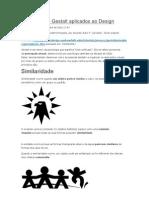 Princípios de Gestalt aplicados ao Design