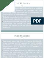 Principios Fundamentales Del Conductismo