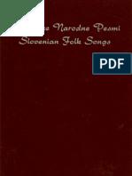 7.8. Slovenian Folk Songs / Slovenske narodne pesmi