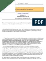 Soja Transgenica vs Apicultura