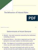 05.the Behaviour of Interest Rates