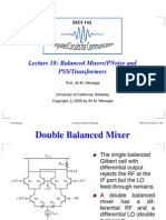 Balanced Mixers/PNoise and