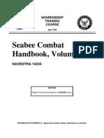 NAVEDTRA_14234_SEABEE COMBAT HANDBOOK, VOLUME 1