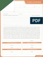 Carta Poder Formato