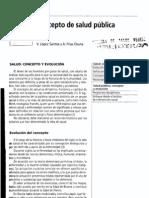 Salud Publica. Conceptualizaciones Asig 2