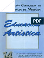 CUADERNILLO 14 - EDUCACION ARTISTICA - 1 PARTE