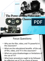 The Power of Film, Video and TV