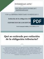 Extincion de La Obligacion Tributaria