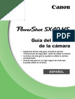 PowerShot SX40 HS CameraUserGuide ES v1.0