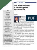 HFE1103 Editorial