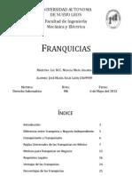 Franquicias. Generalidades