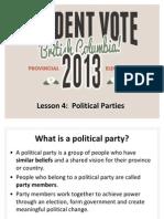 Lesson-3 Political Parties