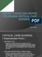 Konsep Dasar Dan Sistem Pelayanan Ccn