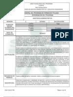 programa asistencia administrativa