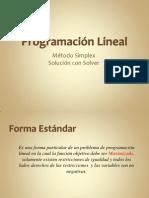 (5) Método Simplex