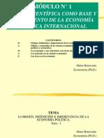 001b Origen e Importancia de La Economia Politica