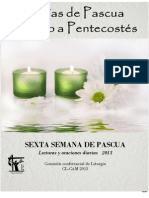 Dias de Pascua Sexta Semana y Domingo de Ascension