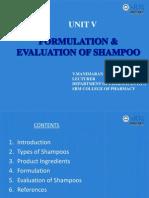 Shampoos 2