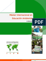 Folleto del MI Educación Ambiental