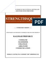 Kalimah Priforce - Top 5 Strengths by STRENGTHSQUEST