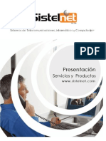 Presentacion Sistelnet 2012