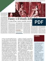 Pietro Citati Su Mansfield Park, Di Jane Austen - Il Corriere Della Sera 09.05.2013